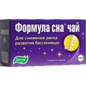 Эвалар Формула сна чай 1,5г №20 фильтр-пакеты