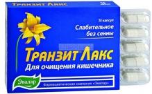 Евалар Транзит Лакс №15 капсули
