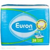 Еврон Софт простыни впитывающие super 60х90см 30шт