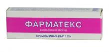 Фарматекс 1,2% 72г крем