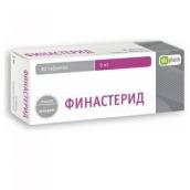 Фінастерид-OBL 5мг №30 таблетки
