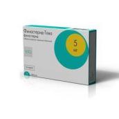 Фінастерид-Тева 5мг №30 таблетки