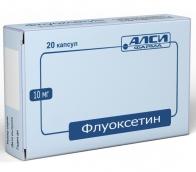 Флуоксетин 10мг №20 капсулы /Озон/