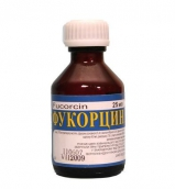 Фукорцин раствор для наружного применения 25мл