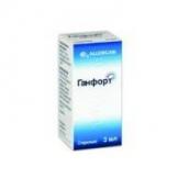 Ганфорт 0,3 мг/мл 5мг/мл краплі очні 3мл флакон-крапельниця
