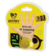 Гардекс Baby браслет от комаров детский + 3 сменных картриджа