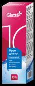 Глатте крем с мочевиной для ног при натоптышах и сухих мозолях 10% мочевины 75мл