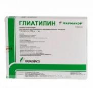 Глиатилин 1000мг розчин для ін'єкцій 4мл №3 ампули