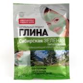Глина сибірська поживна зелена 75г
