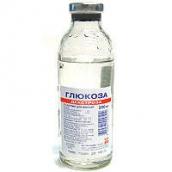 Глюкоза 10% розчин для інфузій 200мл №1 флакон /Красфарма/