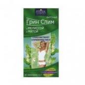 Грин Слим чай Мята и мелисса 2г №30 фильтр-пакеты