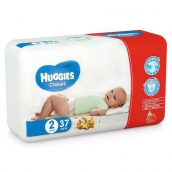 Хаггіс підгузники Classic (2) 3-6кг 37шт