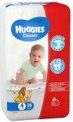 Хаггис подгузники Classic (4) 7-18кг 14шт