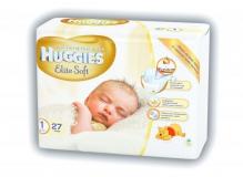Хаггіс підгузники Elite Soft (1) до 5кг 27шт