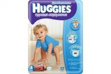 Хаггіс трусики для хлопчиків (4) 9-14кг 17шт