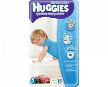 Хаггис трусики для мальчиков (5) 13-17кг 15шт