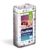 Хаггис трусики DryNites для девочек 4-7лет 17-30кг 10шт