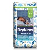 Хаггис трусики DryNites для мальчиков 4-7лет 17-30кг 10шт