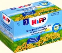 Хипп чай Био из фенхеля с 1 мес. 30г №20 фильтр-пакеты
