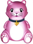 Інгалятор небулайзер Кішка компресорний дитячий (з сумкою)
