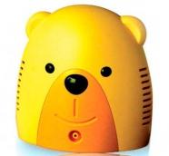 Інгалятор небулайзер Ведмедик компресорний дитячий (без сумки)