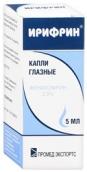 Ирифрин 2,5% краплі очні 5мл флакон-крапельниця