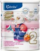 Кабрита 2 Голд смесь молочная для детей на козьем молоке 400г