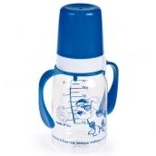 Канпол бебі пластикова пляшка з ручками 120мл, арт. 11/821