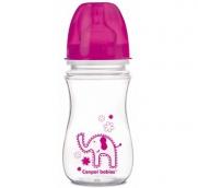 Канпол бебі пляшечка з широким горлечком Easy Start 240мл, арт. 35/206