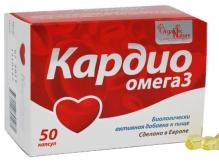 Кардио Омега-3 №50 капсулы /Organic Nature/