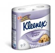 Клинекс бумага туалетная Premium Comfort 4шт