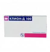 Клион Д 100 №10 таблетки вагинальные