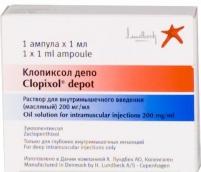 Клопиксол депо 200мг/мл р-р для инъекций n1 амп.