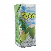 Коко Велл кокосовая вода Nosso с соком лайма 330мл 1шт
