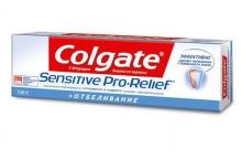 Колгейт паста зубная Sensitive Pro-Relief Отбеливающая 50мл