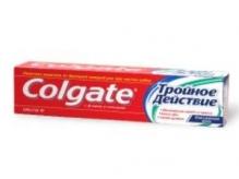 Колгейт паста зубная Тройное действие 100мл