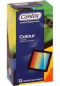 Контекс презервативы Colour цветные 12шт