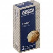 Контекс презервативы Relief рельефные 12шт