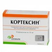 Кортексин 10мг лиофилизат для приг. раствора для инъекций №10 флаконы