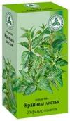 Крапивы листья 1,5г №20 фильтр-пакеты