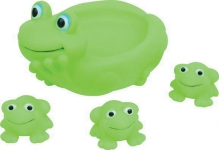 Курносики игрушка для ванны семейка лягушки 6мес+, арт. 25074
