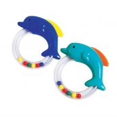 Курносики игрушка-погремушка дельфин 3мес+, арт. 21313