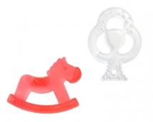 Курносики прорезыватель силиконовый лошадка и дерево 4мес+, арт. 23086