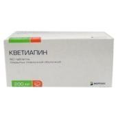 Кветиапин 200мг №60 таблетки /Вертекс/