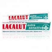 Лакалют паста зубная extra sensitive 50мл