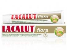 Лакалют паста зубная flora 50мл