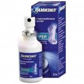 Ламизил спрей 1% 15мл флакон