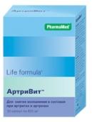 Лайф Формула Артривит №30 таблетки
