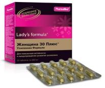 Ледис Формула Женщина 30 Плюс Усиленная формула №30 таблетки