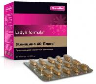Ледис Формула Женщина 40 Плюс №30 таблетки